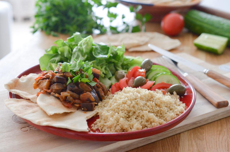 Salade Aubergines Marocaine (3 Sur 8)
