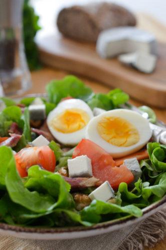 Salade fermière au petit perche