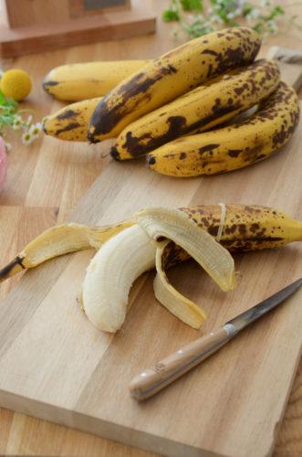 Cake à la banane épices et fruits secs