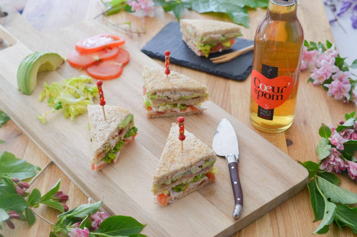 Club Sandwich Poulet Avocat (9 Sur 15)
