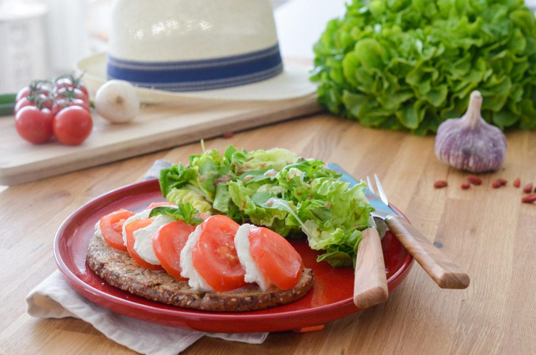 Pain Perdu Tomate Mozzarella (1 Sur 12)