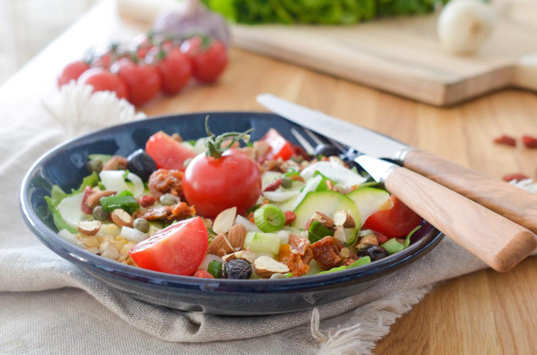 Salade Energie Lentilles Goji (1 Sur 10)