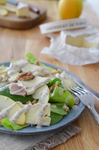 Salade Normande au camembert fermier