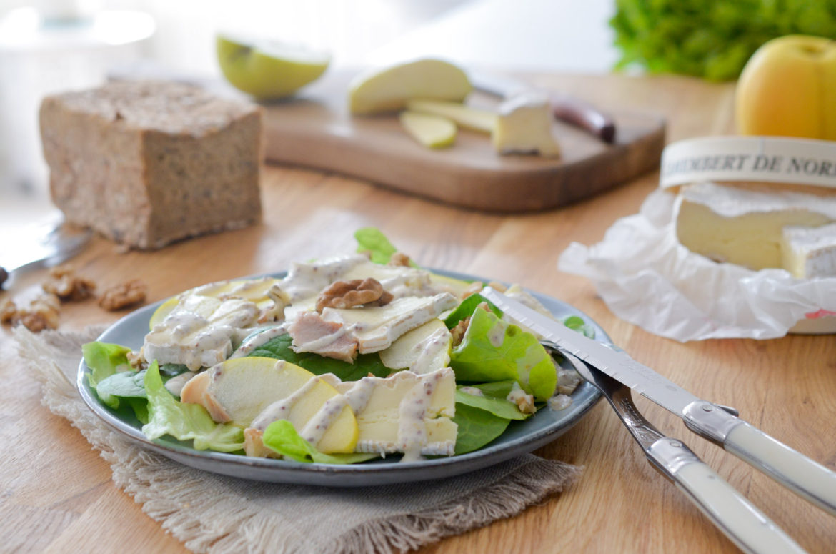Salade Normande Camembert (3 Sur 13)
