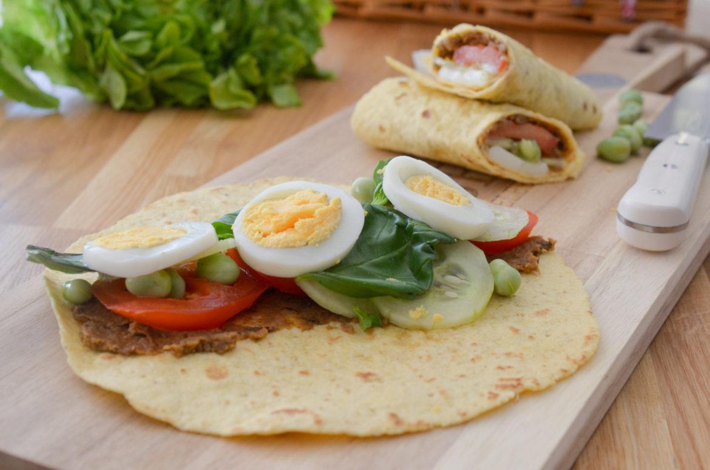 Wrap Sandwich Nicoise (4 Sur 11)