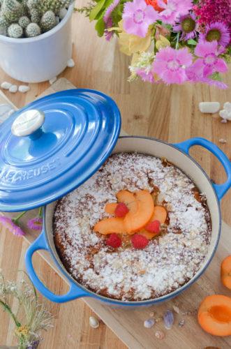 Gâteau aux abricots et à l'huile d'olive