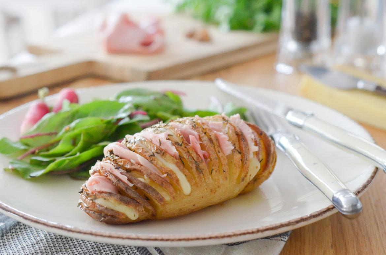 Hasselback Potatoes Jambon (7 Sur 9)
