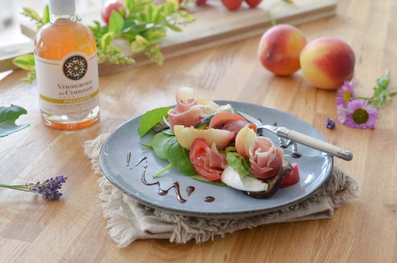 Salade Peche Parme Bergamote (4 Sur 10)