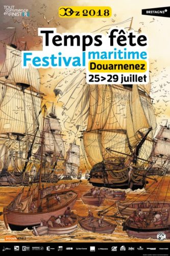 RDV à Douarnenez, en Bretagne, le 28 juillet avec Connetable !