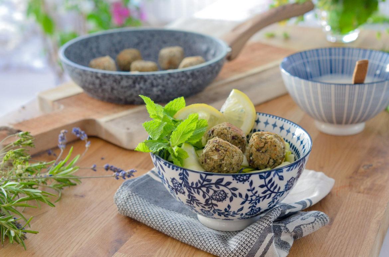 Boulettes Vegetariennes Pois Chiches Courgettes (6 Sur 8)