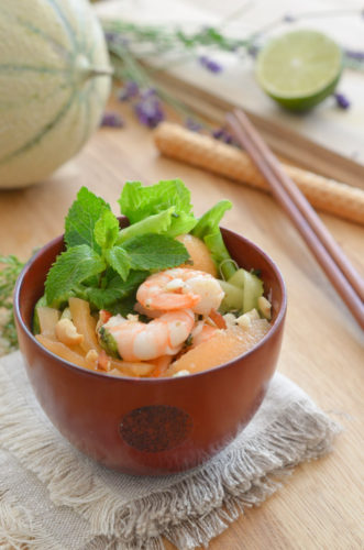 Salade de Melon à la Thaïe