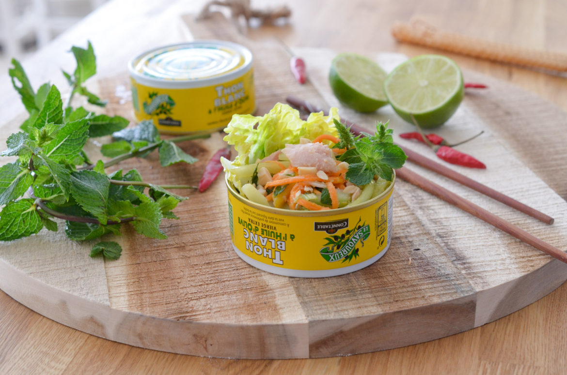 Salade Thai Thon Connetable (8 Sur 17)