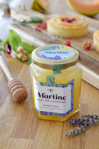 Tarte au Melon et miel de lavande