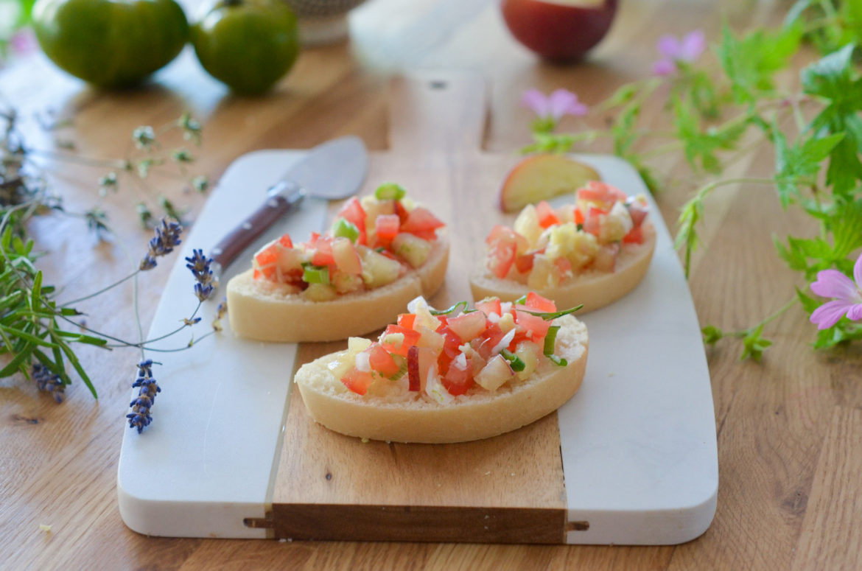 Tartines Salsa Peche Tomate Gingembre (1 Sur 16)