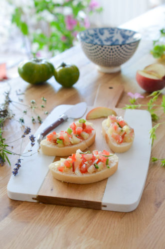 Salsa de Tomate à la Pêche