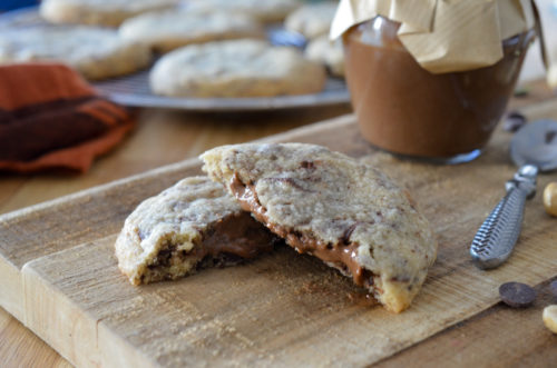 Cookies Fourre Chocolat Noisettes (3 Sur 11)
