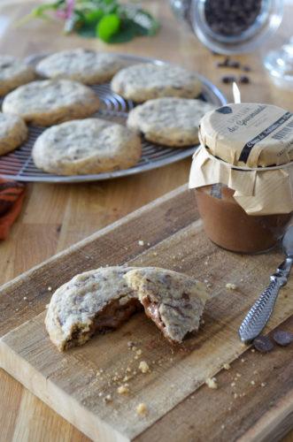 Cookies Fourre Chocolat Noisettes (4 Sur 11)