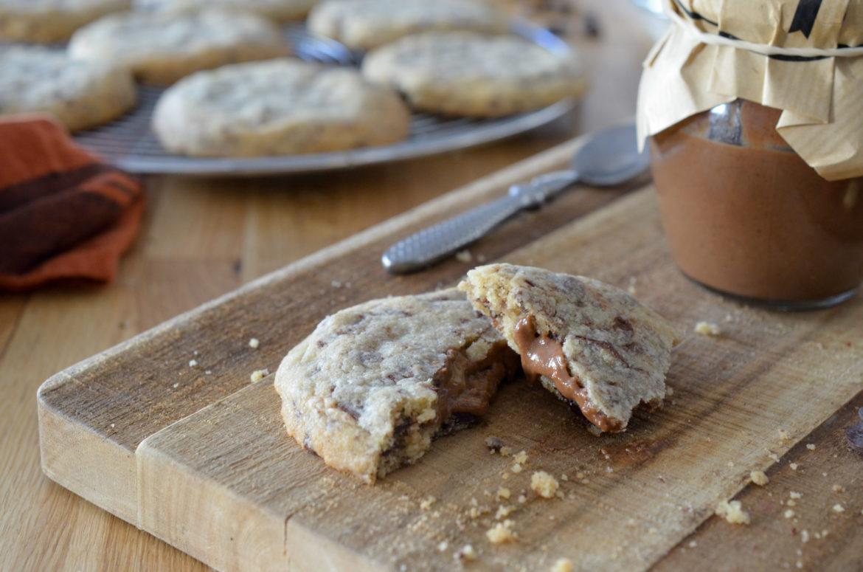 Cookies Fourre Chocolat Noisettes (6 Sur 11)