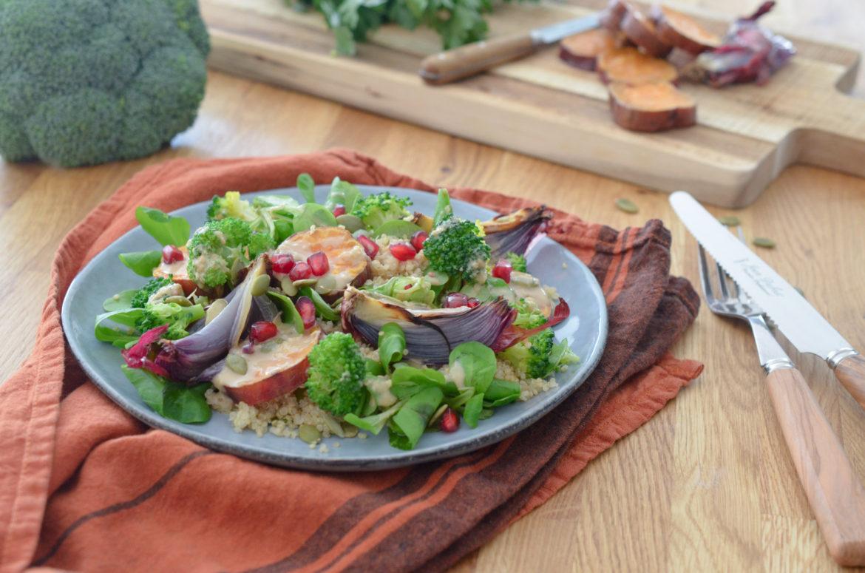 Salade Patates Douces Miso 2