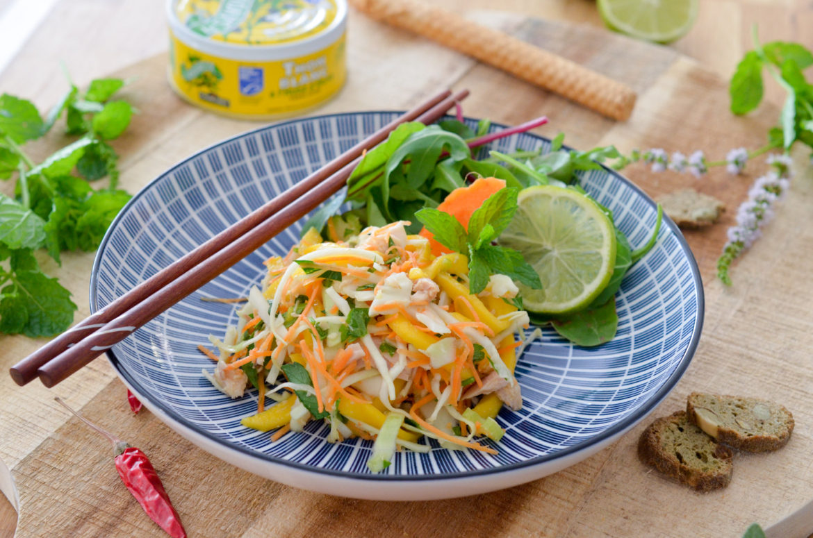 Salade Thai Automne Thon Connetable 13