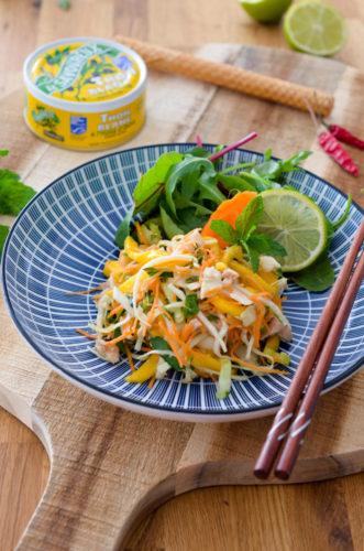 Salade Thaï d'automne au thon