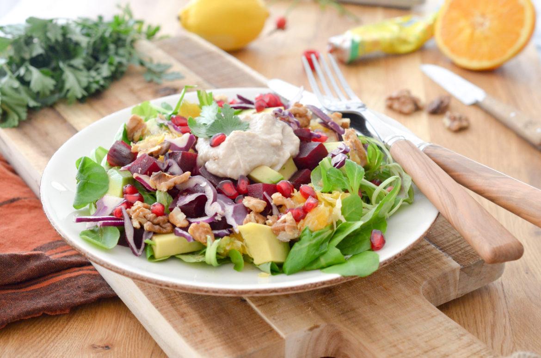 Salade Vegan Houmous Betterave 3
