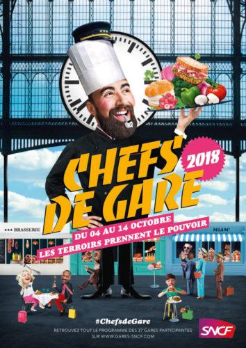RDV mardi et mercredi prochain pour un atelier Granola ! #ChefsDeGare