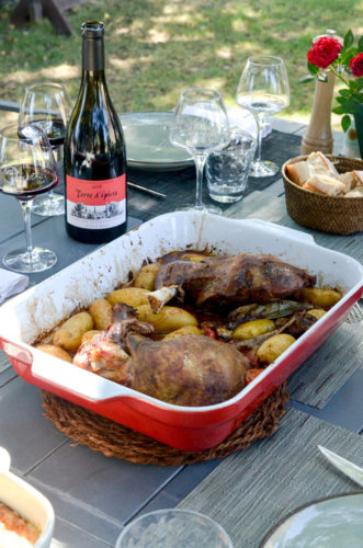Epaule d'agneau de la Drôme aux épices du sud