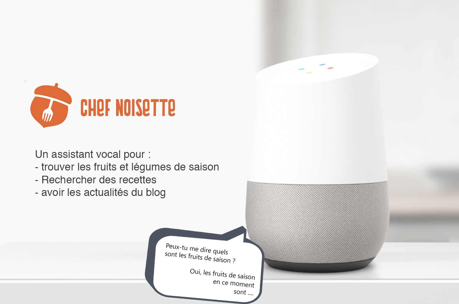 Chef Noisette, l'assistant cuisine