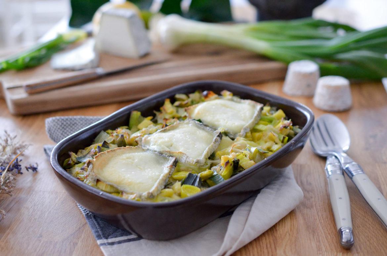 Poireaux Chevre Quinoa