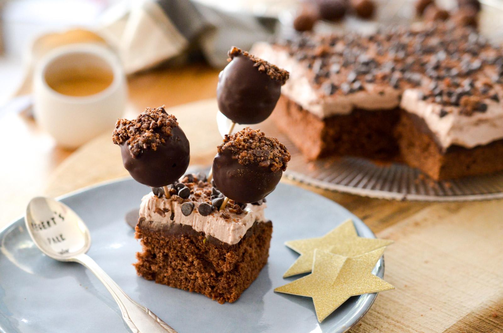 Pop cakes chocolat café