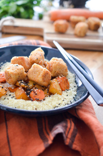 Nuggets de tofu