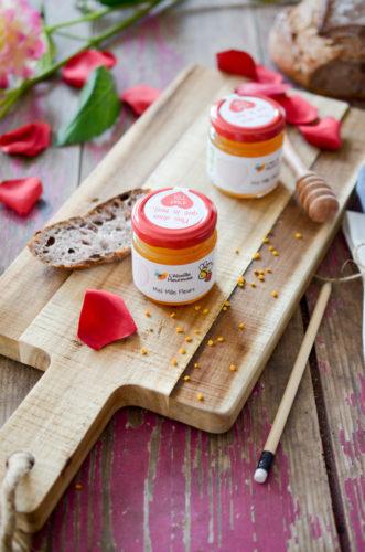 Pour la Saint Valentin, soutenez les abeilles avec l'Abeille Heureuse !