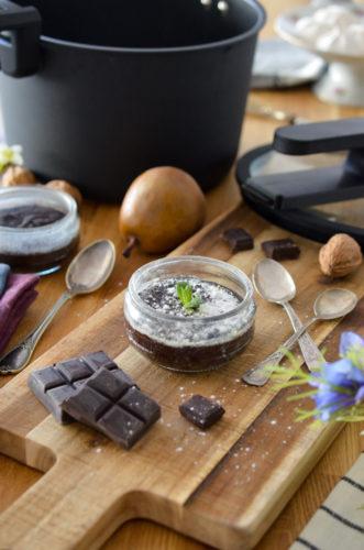 Moelleux au chocolat à la vapeur