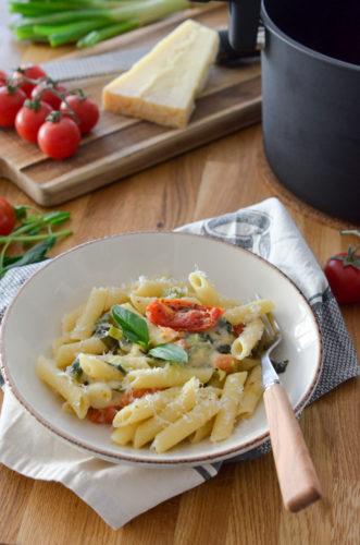 One pot pasta tomate mozzarella