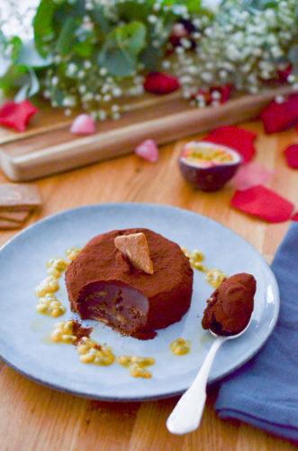 Gâteau truffé au chocolat (sans cuisson)