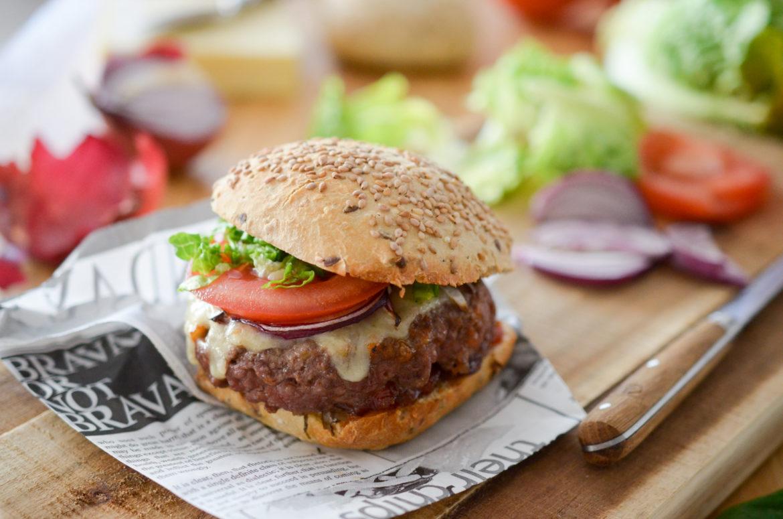 Recette Burger Chutney Tomates 4