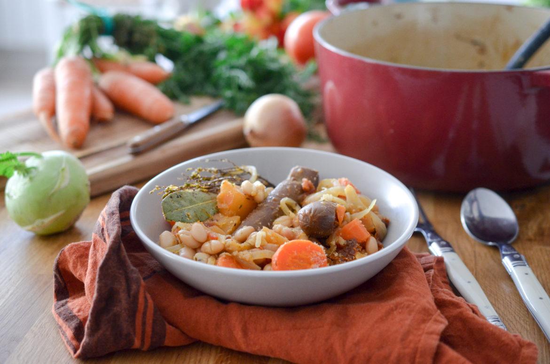Recette Cassoulet Vegetarien Carottes