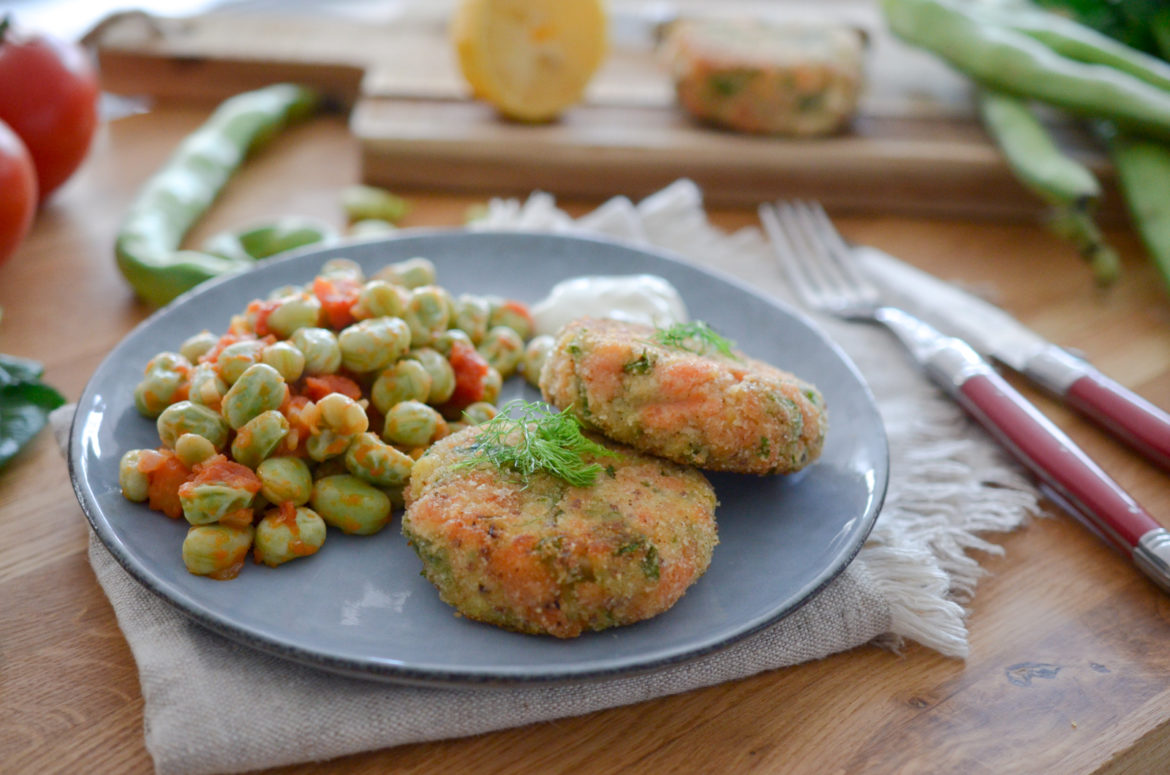 Recette Fish Cake Feves Tomates 10