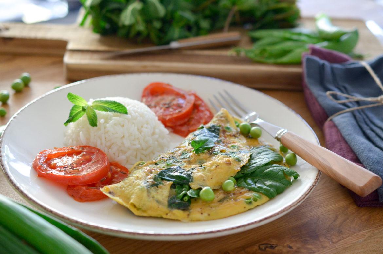 Recette Omelette Printaniere Riz Tomate 10