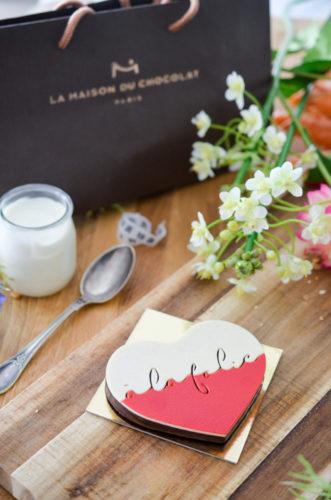 Craquez pour le Coeur Praliné de la Maison du Chocolat