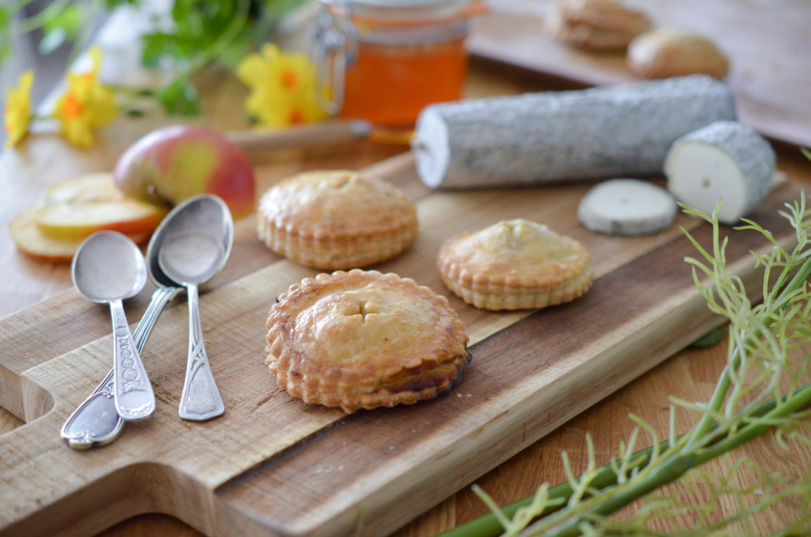 Recette Apple Pie Sainte Maure Touraine
