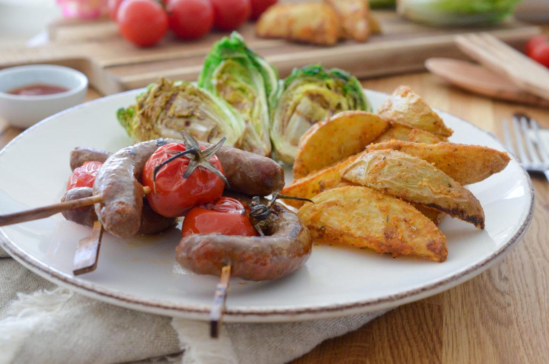 Recette Brochettes Saucisses Potatoes 2