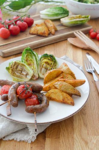 Recette Brochettes Saucisses Potatoes 7