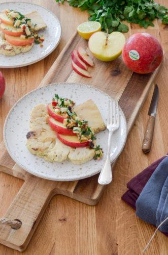 Recette Chou Fleur Salsa Pomme Antares 11