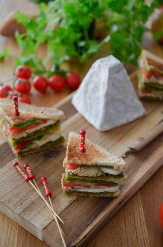 Recette Club Sandwich Pouligny 11