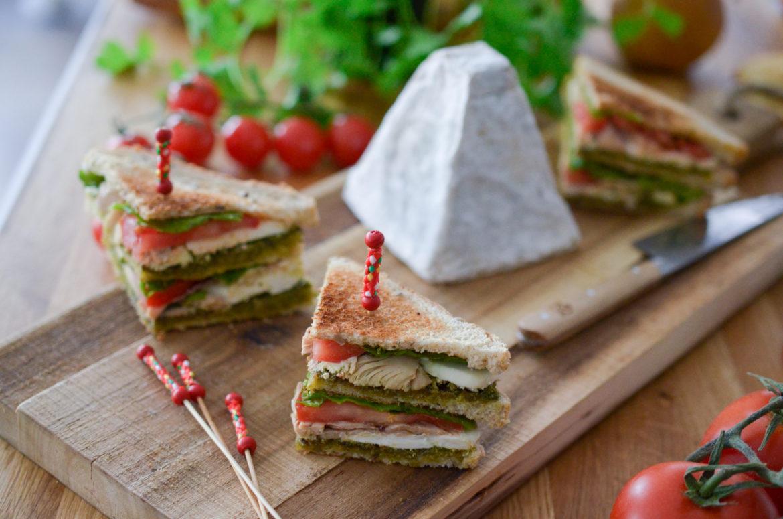 Recette Club Sandwich Pouligny 14