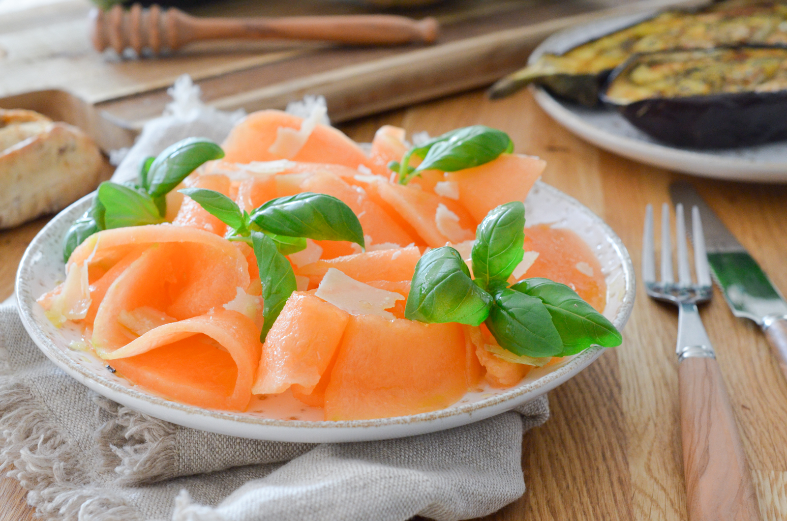 Carpaccio de melon
