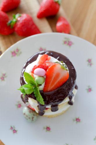 Recette Drip Cake Chocolat Fraises 12