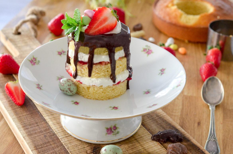 Recette Drip Cake Chocolat Fraises Okhd